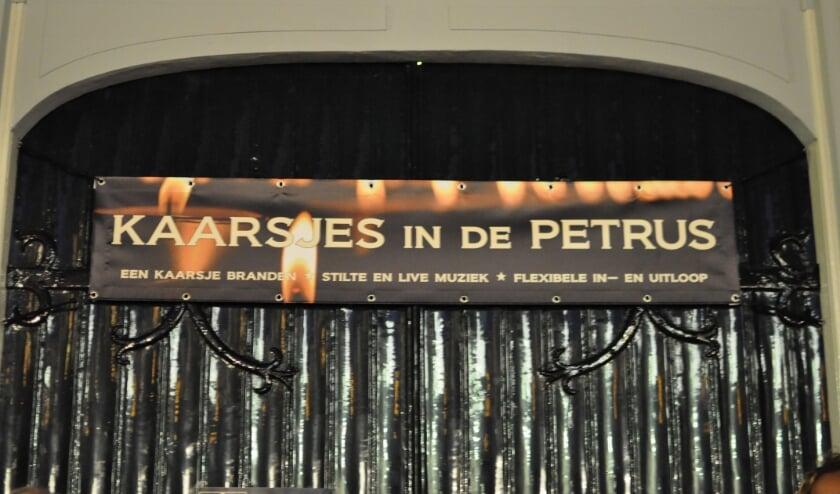 banner Petruskerk