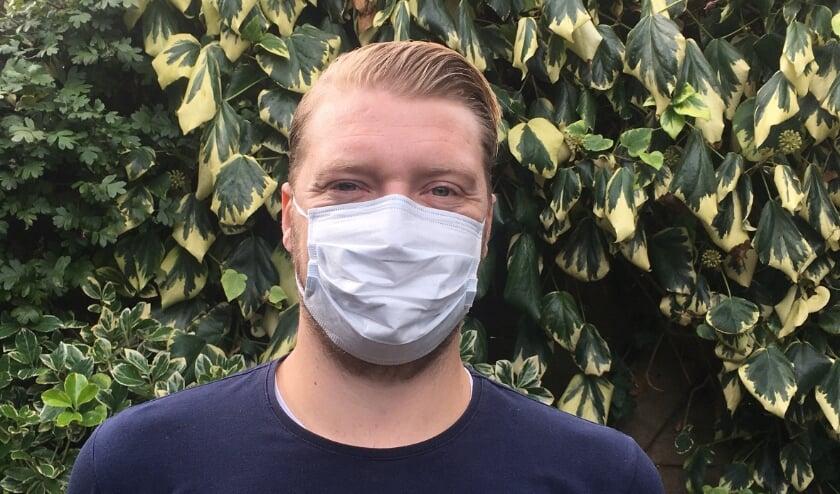 """<p pstyle=""""Intro"""">Sinds vrijdag 2 oktober moeten pati&euml;nten, bezoekers en medewerkers een mondneusmasker dragen bij een bezoek aan ziekenhuis Rijnstate. (Foto: Tineke van de Lagemaat)</p>"""