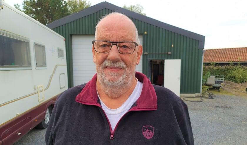 <p>Gert van Beek uit Kloosterzande is de regiovertegenwoordiger van de Prostaatkankerstichting.</p>