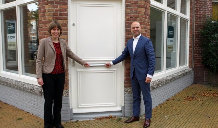 <p>Marieke Alberts en Armand van de Laar zijn erg verheugd over deze stap. Foto: Peter van Zetten.&nbsp;</p>