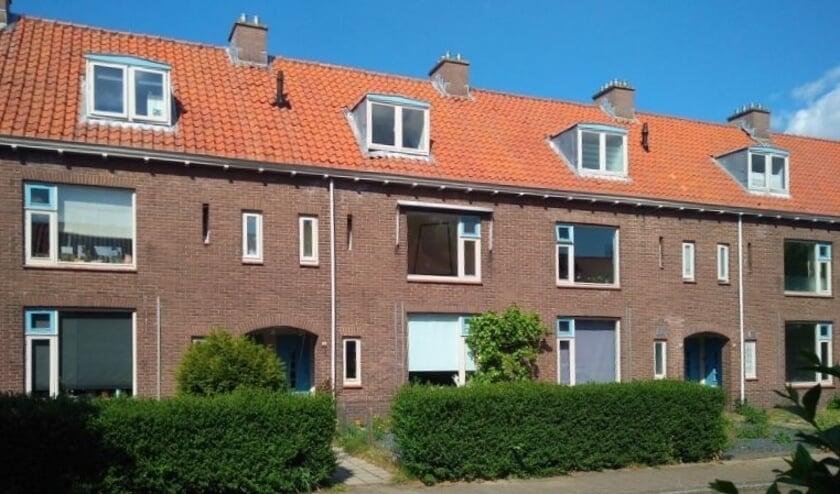 <p>De huizen aan de Dennenlaan in Veenendaal die hun langste tijd hebben gehad. (Foto; Archief)</p>