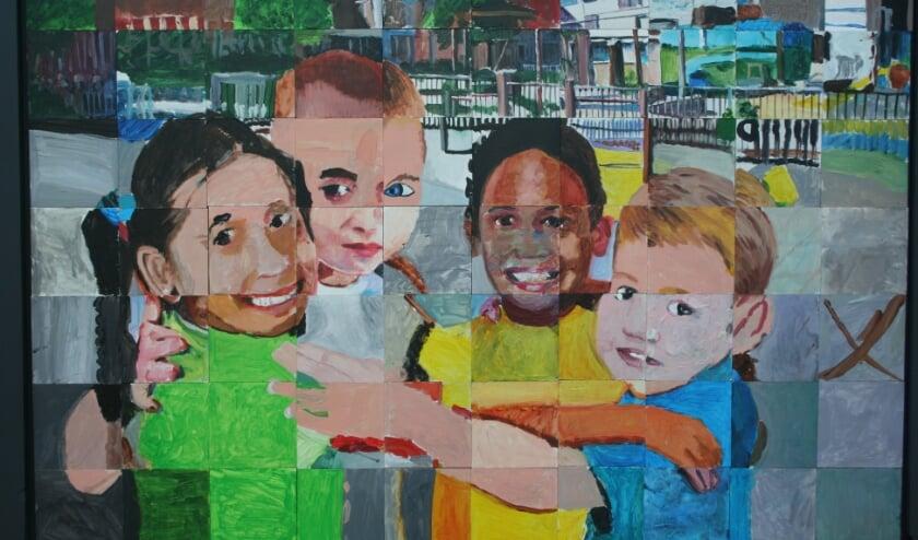 <p>Het schilderij dat hangt bij De Klumpert.</p>