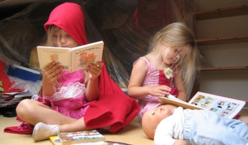 <p>Lezen en voorlezen is heel belangrijk voor de taalontwikkeling van een kind. (Foto: PR)&nbsp;</p>