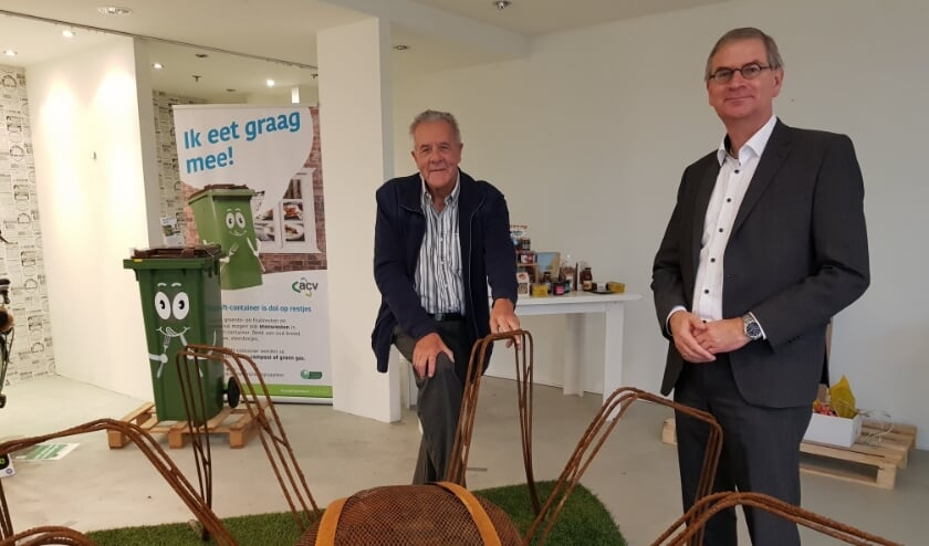 <p>Wim Bakker en Marco Verloop bij De Spin van Pieter &amp; Suzanne</p>