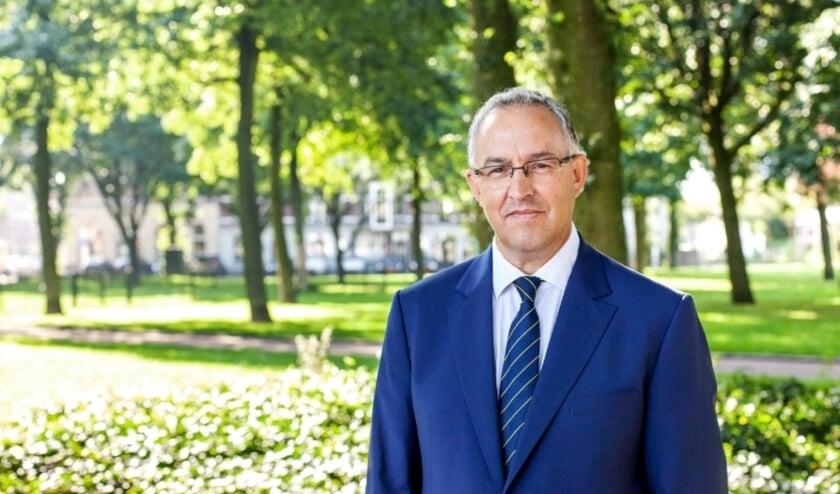 <p>Burgemeester Ahmed Aboutaleb.</p>
