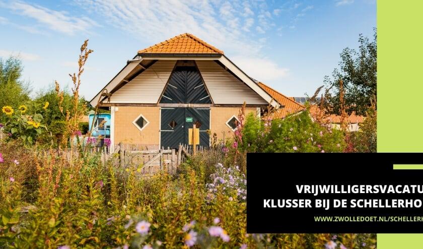 <p>Wijkboerderij de Schellerhoeve zoekt een klusser voor het opknappen van kleine klussen in en rond de boerderij.&nbsp;</p>