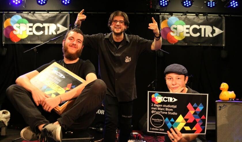 <p>De winnaars van het afgelopen Spectra-seizoen.</p>
