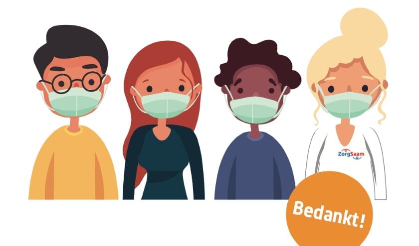 <p>ZorgSaam vraagt pati&euml;nten en bezoekers dringend om in het ziekenhuis een mondkapje te dragen. Dit geldt voor &aacute;lle pati&euml;nten en bezoekers.</p>