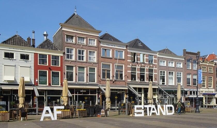 <p>De noordzijde van de Markt waar Abel Willems woonde (foto Jeroen Stolk).</p>