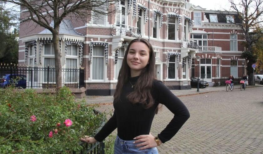 <p>Rumyana Lazarova moest erg wennen aan het verkeer in Den Haag (Foto: Peter van Zetten)</p>