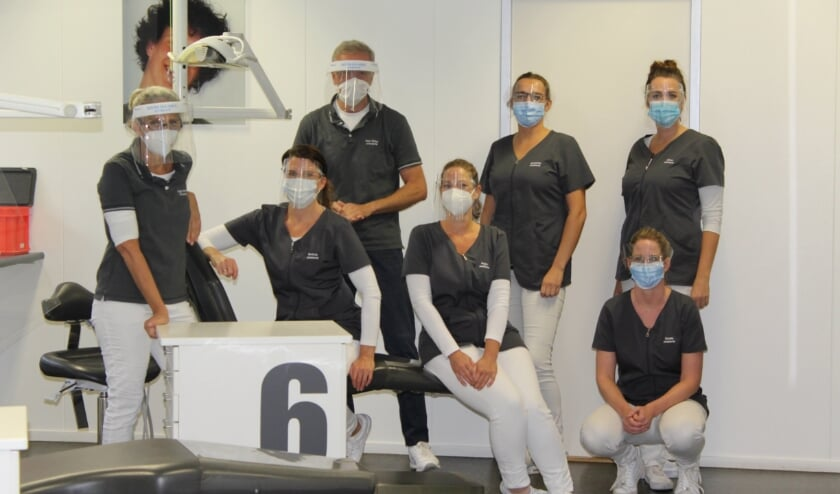 <p>Team orthodontiepraktijk Krabbe.</p>