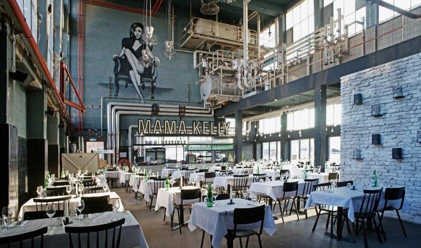 Het voormalige ketelhuis van de sigarettenfabriek Laurens, nu restaurant Mama Kelly.