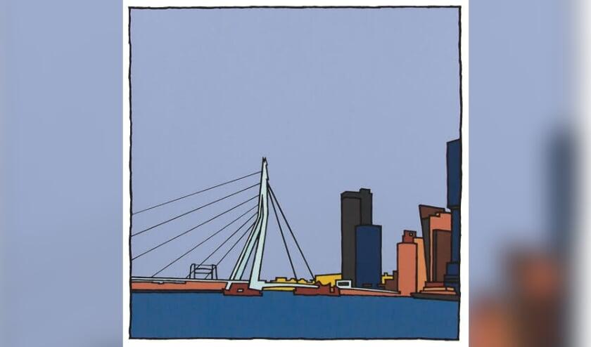 <p>Een zeefdruk van Wim van Willegen. &nbsp;</p>