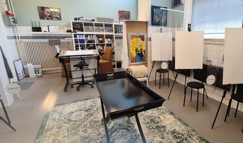 <p>Ateliers/werkruimte.</p>