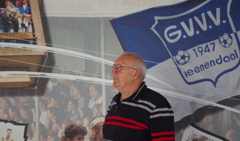 <p>Gert van Holland is al 43 jaar vrijwilliger bij GVVV. (Foto: Co Keulstra)</p>