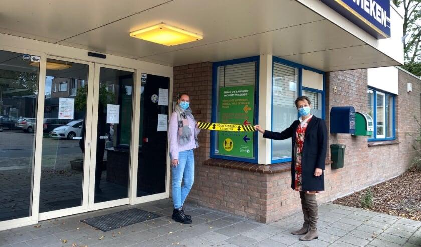 <p>Griepvaccinaties in Dorpscentrum De Wieken, Ingang Molenstraat.&nbsp;</p>