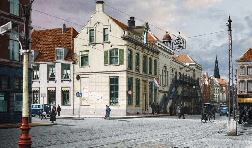 <p>Sfeerbeeld uit de tentoonstelling 'Nijmegen, zo mooi als het was'.&nbsp;</p>