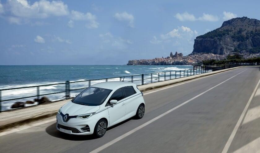 <p>De Renault S&eacute;rie Limit&eacute;e Rivi&egrave;ra is een voorbeeld van een elektrische auto.</p>