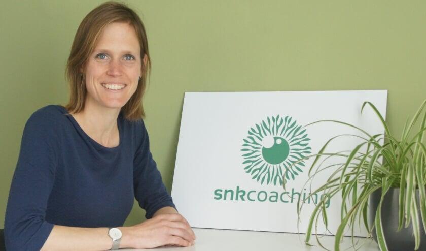 <p>&nbsp;Sieneke Ribberink van Snkcoaching in Nunspeet . (Foto: Snkcoaching)</p>