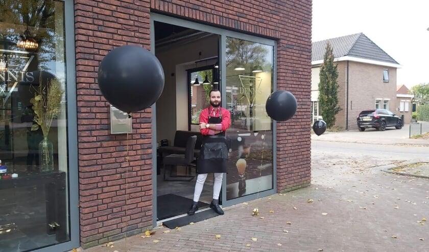 <p>Herenkapper Dennis Hendrikx Wierden openingsdag 24 oktober 2020</p>