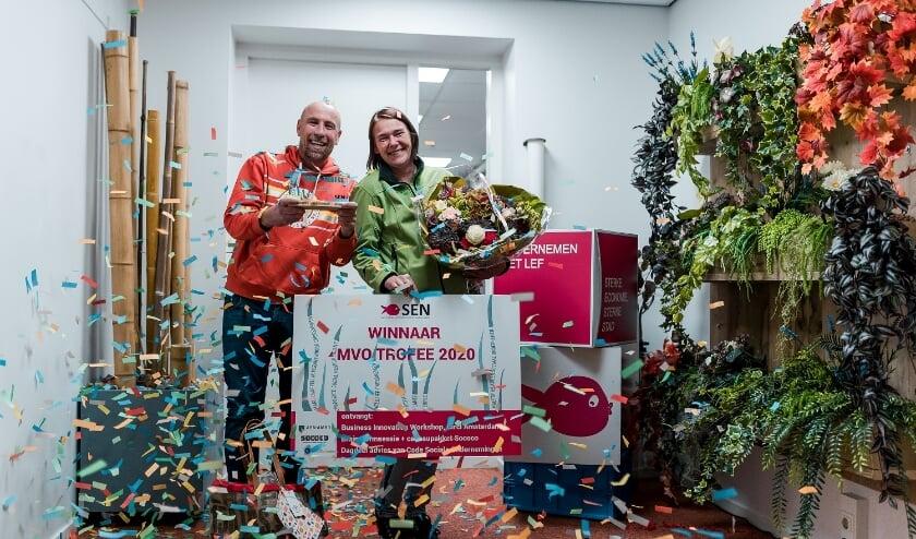 <p>Deelfruit is op 29 oktober 2020 uitgeroepen tot de winnaar van de MVO-trofee 2020. (Foto: Priv&eacute;)</p>