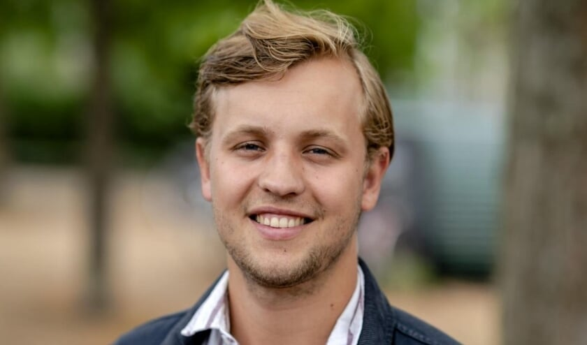 <p>Jurgen (22) uit Utrecht heeft aangegeven donor te willen zijn. Foto: Sander Koning</p>