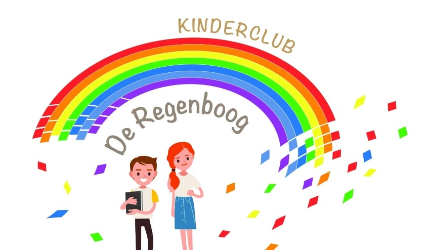 Het logo van de kinderclub