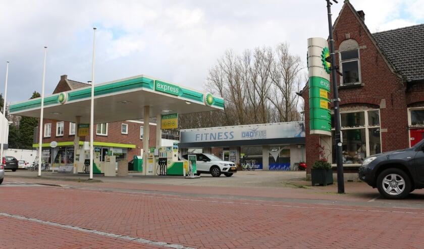 <p>Het voormalige garagebedrijf Schilders aan de Kapelstraat 35 in Heeze.</p>