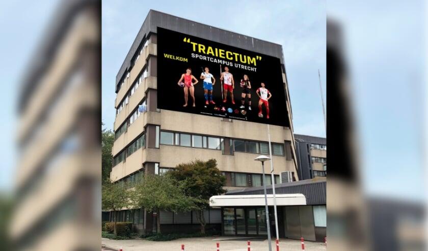 <p>Ook SportUtrecht sluit zich aan bij &nbsp;Traiectum. De nieuwe naam voor de sportcampus werd bedacht door Sara van Mourik. Foto: SportUtrecht</p>