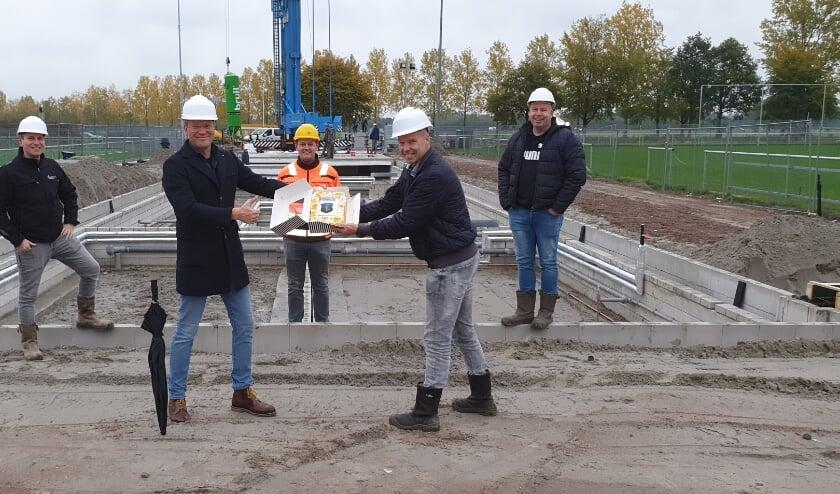 V.l.n.r. Mark Schreurs, Wilco Zwoferink, Marcel Kreijkes, Wouter Beumer en Ferry Stevens