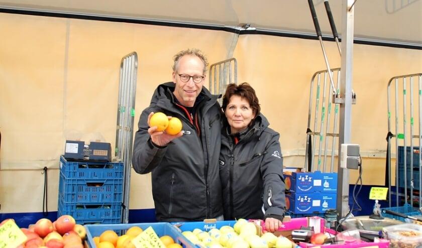 JP en Marjan Jansen komen al zo'n twintig jaar op beide weerkmarkten in de Beerzen.