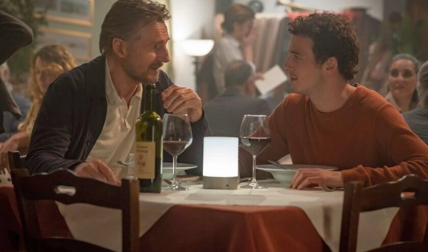 <p>Liam Neeson en zoon spelen samen in een film</p>
