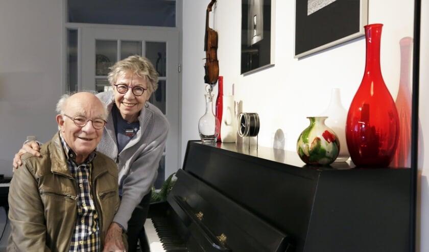 <p>Anneke en Hans, een muzikaal diamanten echtpaar. Foto: Jurgen van Hoof</p>