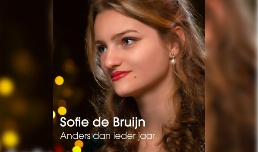 De cover van de nieuwe kerstsingle van Sofie de Bruijn.