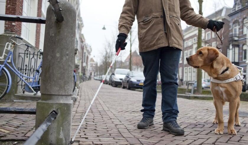 <p>Voor mensen met een beperking moet de stad geen drempels opwerpen om mee te kunnen doen. (Foto: gemeente Den Haag)</p>