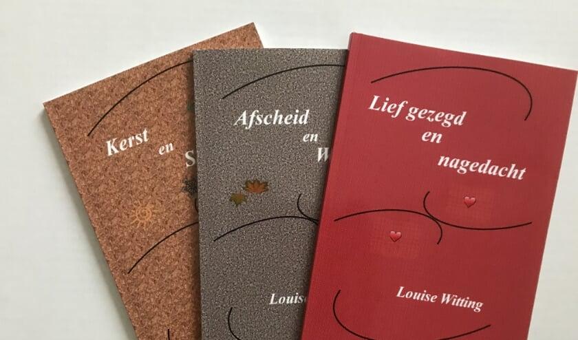 <p>Louise Witting heeft een paar nieuwe boekjes uitgegeven.&nbsp;</p>