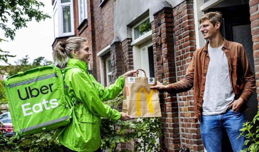 <p>Via McDelivery kunnen Nieuwegeiners de lekkerste burgers en menu&rsquo;s eenvoudig thuis laten bezorgen. Eigen foto&nbsp;</p>