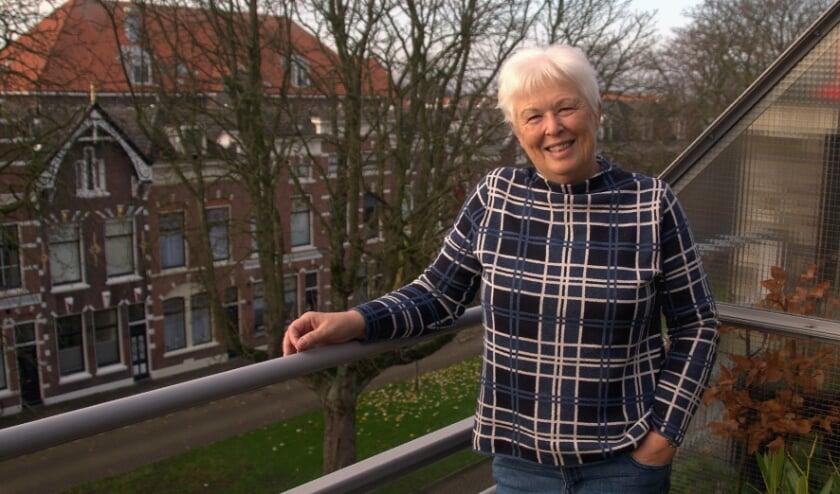 <p>De afscheid nemende Ellen Boonstra-de Jong. Foto Frans Assenberg</p>