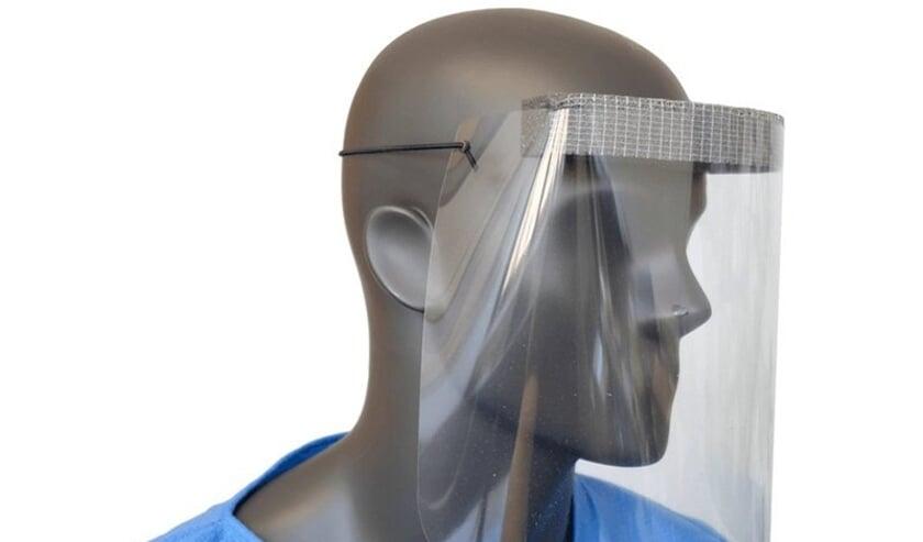 <p>In veel gevallen kan het ziekenhuis gebruik maken van een face shield.</p>