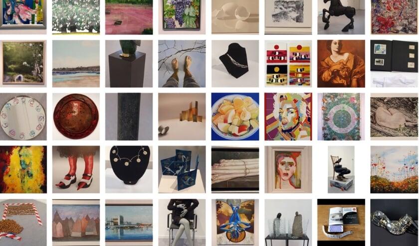 <p>43 kunstenaars dingen mee om de Herman Krikhaarprijs. (Foto: M. Ouderkerk)</p>