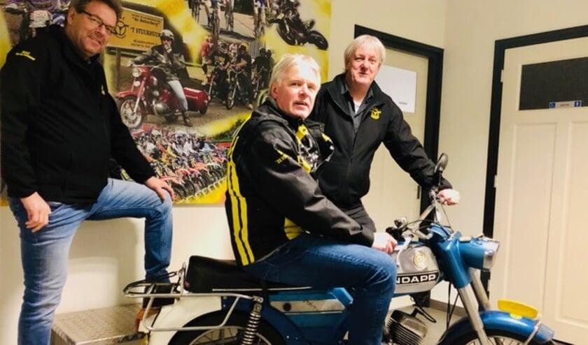 <p>Wim Slijkhuis, Jan Kampman en Seino Voortman.&nbsp;</p>