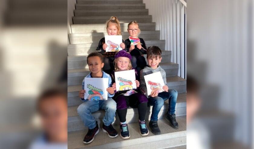 Kinderen van Kindcentrum Oersprong uit Ulft