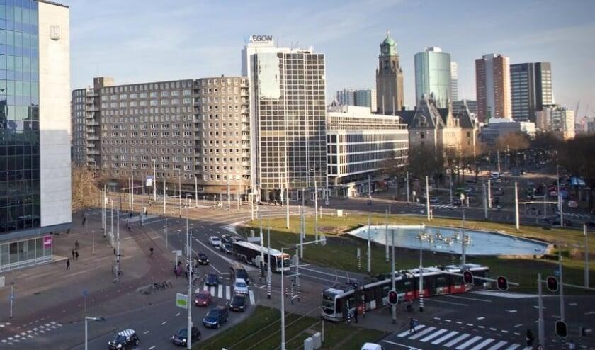 <p>De kantoorgebouwen Coolsingel 6, Hofplein 33 en het woongebouw Pompenburg moeten gesloopt worden.</p>
