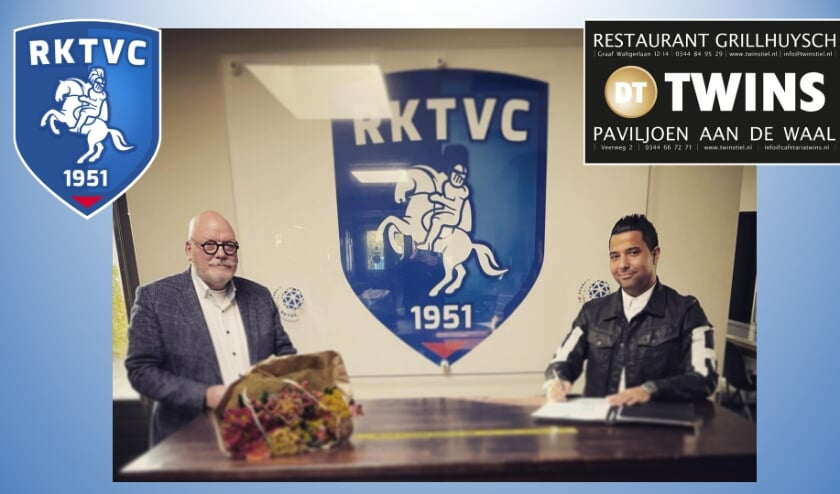 Henk Driessen (RKTVC) en Tolgan Dogan (Twins)