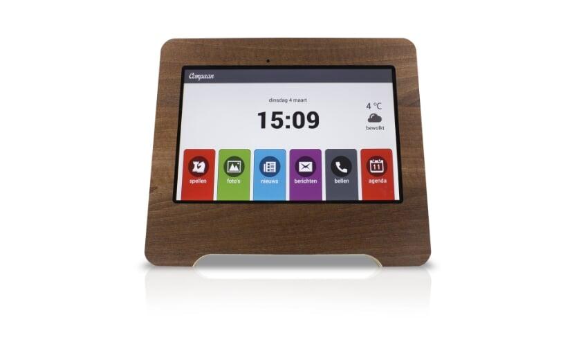 <p>Compaan tablet voor senioren is gemakkelijk in het gebruik.&nbsp;</p>