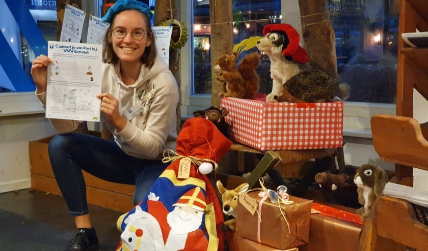 <p>Sinterklaasactie VVV Ermelo. (foto: Astrid Luursema)</p>