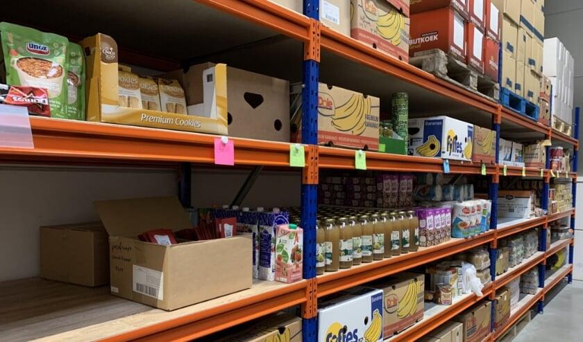 magazijn Voedselbank Woerden