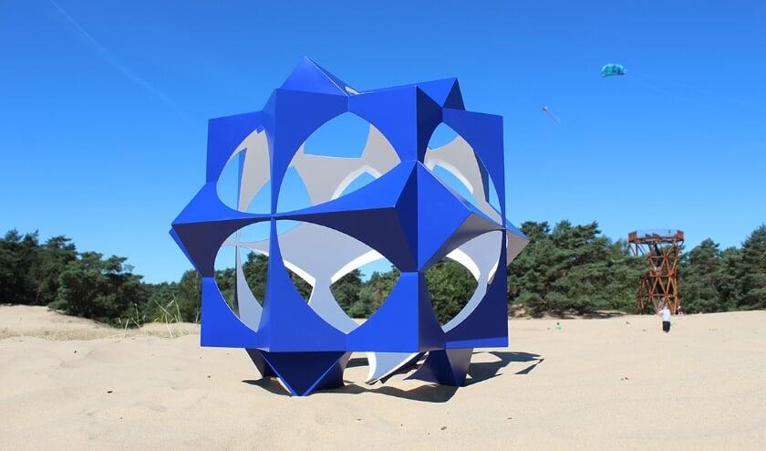 <p>&quot;Mijn laatste sculptuur is 50 cm hoog en opgebouwd uit bijna 100 geprinte onderdelen. Mijn droom is om deze sculpturen op steeds grotere schaal te vervaardigen.&quot; (foto Studio Bloemendal)</p>