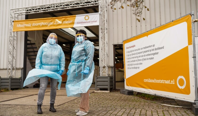 <p>De sneltestlocatie is te vinden aan de Hallenstraat 20 op het industrieterrein van Bladel. Foto: Christiaan de Groot</p>