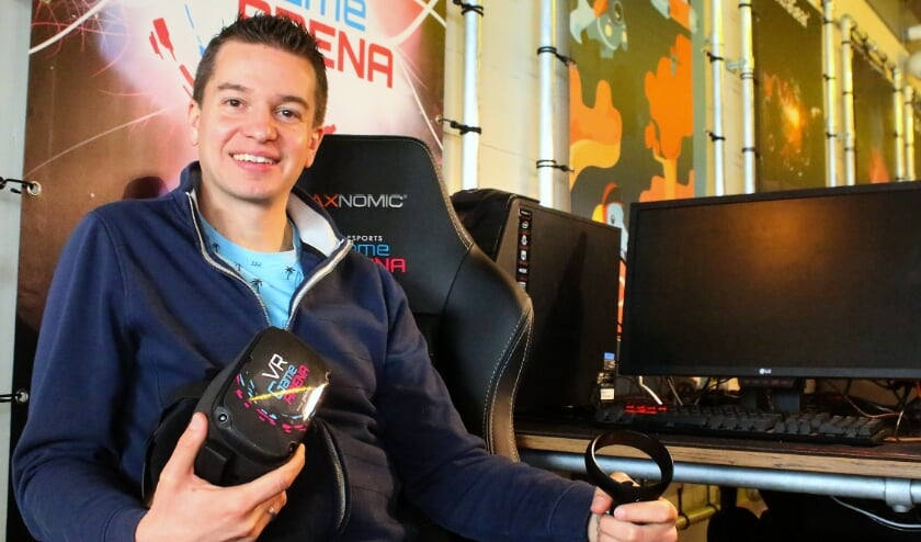 <p>Dit jaar moet e-sports nog groter worden volgens Thomas Runhart van de Esports Game Arena. Foto archief Rob Langerak&nbsp;</p>